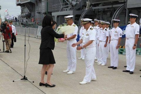 釧路東港において練習艦「やまゆき」艦艇広報 自衛隊帯広地方協力本部No03
