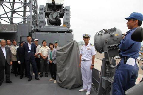 釧路東港において練習艦「やまゆき」艦艇広報 自衛隊帯広地方協力本部No05