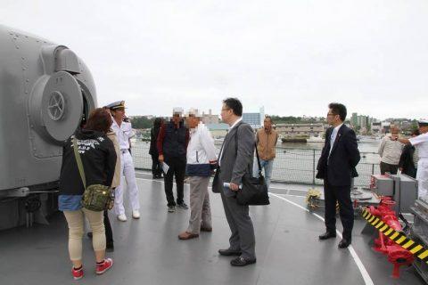 釧路東港において練習艦「やまゆき」艦艇広報 自衛隊帯広地方協力本部No07