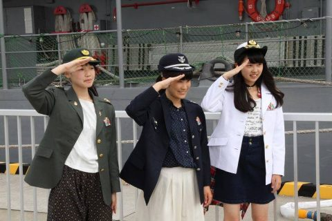 釧路東港において練習艦「やまゆき」艦艇広報 自衛隊帯広地方協力本部No08