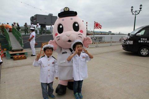 釧路東港において練習艦「やまゆき」艦艇広報 自衛隊帯広地方協力本部No09