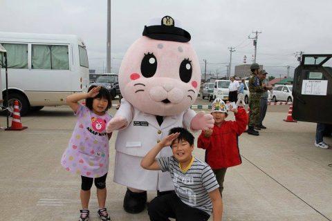 釧路東港において練習艦「やまゆき」艦艇広報 自衛隊帯広地方協力本部No10