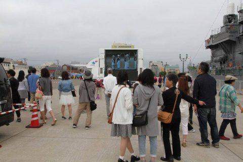 釧路東港において練習艦「やまゆき」艦艇広報 自衛隊帯広地方協力本部No12