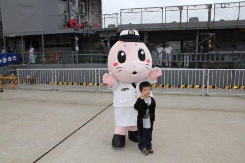 釧路東港において練習艦「やまゆき」艦艇広報 自衛隊帯広地方協力本部No13