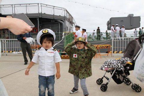 釧路東港において練習艦「やまゆき」艦艇広報 自衛隊帯広地方協力本部No14