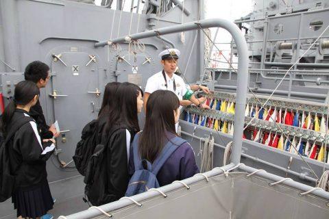 釧路東港において練習艦「やまゆき」艦艇広報 自衛隊帯広地方協力本部No15
