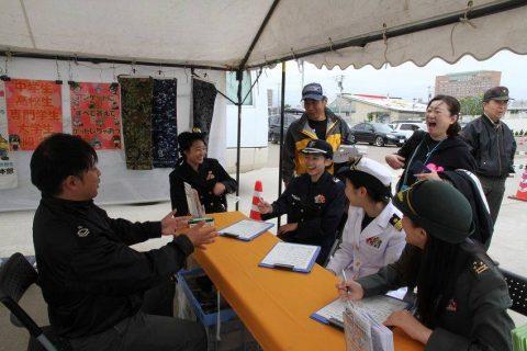 釧路東港において練習艦「やまゆき」艦艇広報 自衛隊帯広地方協力本部No19