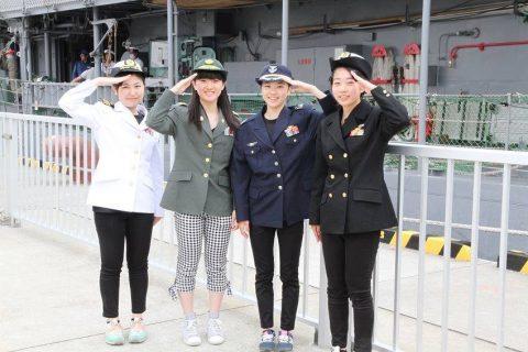 釧路東港において練習艦「やまゆき」艦艇広報 自衛隊帯広地方協力本部No23