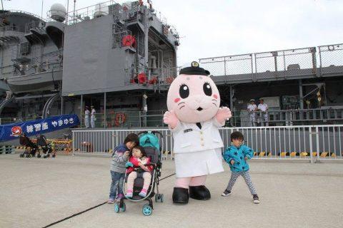 釧路東港において練習艦「やまゆき」艦艇広報 自衛隊帯広地方協力本部No24