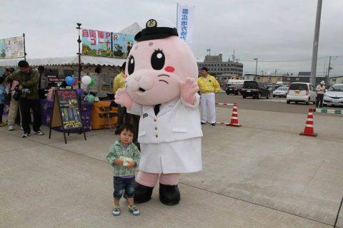 釧路東港において練習艦「やまゆき」艦艇広報 自衛隊帯広地方協力本部No25
