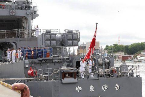 釧路東港において練習艦「やまゆき」艦艇広報 自衛隊帯広地方協力本部No33