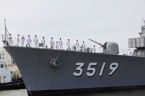 釧路東港において練習艦「やまゆき」艦艇広報 自衛隊帯広地方協力本部No34