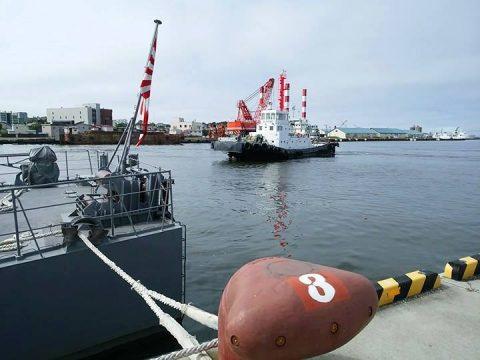 釧路東港において練習艦「やまゆき」艦艇広報 自衛隊帯広地方協力本部No35