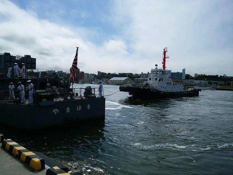 釧路東港において練習艦「やまゆき」艦艇広報 自衛隊帯広地方協力本部No36