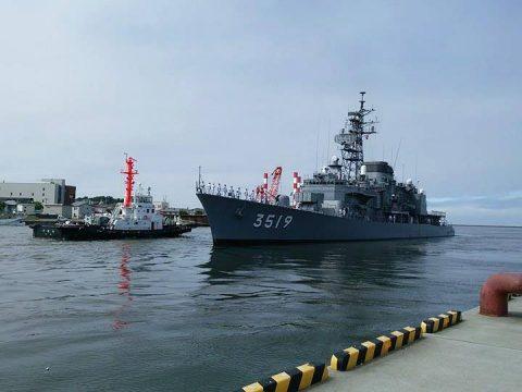 釧路東港において練習艦「やまゆき」艦艇広報 自衛隊帯広地方協力本部No37