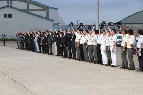 釧路東港において練習艦「やまゆき」艦艇広報 自衛隊帯広地方協力本部No38