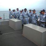 防衛省 海上自衛隊 海賊対処行動水上部隊(25次隊)いなづま7