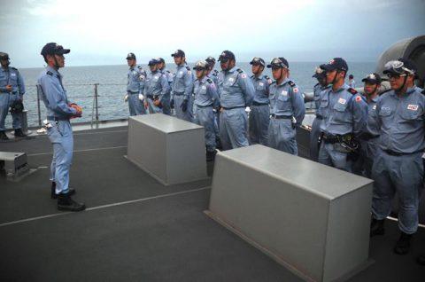 防衛省 海上自衛隊 海賊対処行動水上部隊(25次隊)いなづま7No1