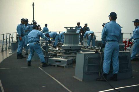 防衛省 海上自衛隊 海賊対処行動水上部隊(25次隊)いなづま7No2