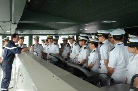 平成28年度 海自幹部候補生 練習艦隊 遠洋航海14フランス・イギリスNo2
