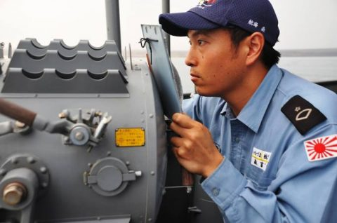 防衛省 海上自衛隊 海賊対処行動水上部隊(25次隊)いなづま7No3