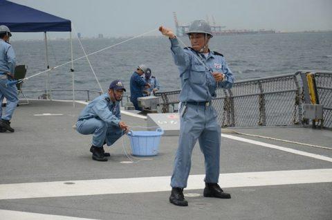 防衛省 海上自衛隊 海賊対処行動水上部隊(25次隊)いなづま7No4