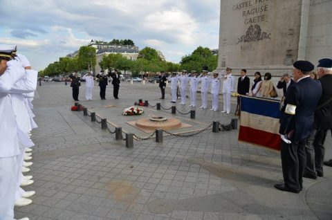 平成28年度 海自幹部候補生 練習艦隊 遠洋航海14フランス・イギリスNo4