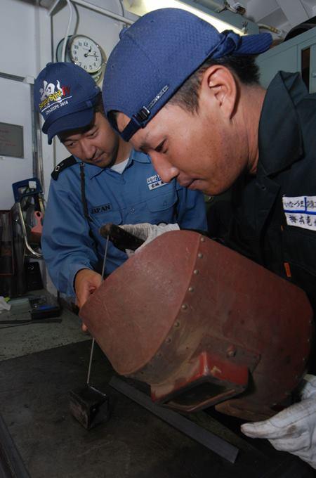 防衛省 海上自衛隊 海賊対処行動水上部隊(25次隊)いなづま7No7