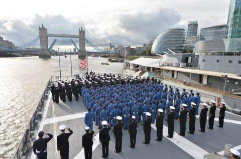 平成28年度 海自幹部候補生 練習艦隊 遠洋航海14フランス・イギリスNo7
