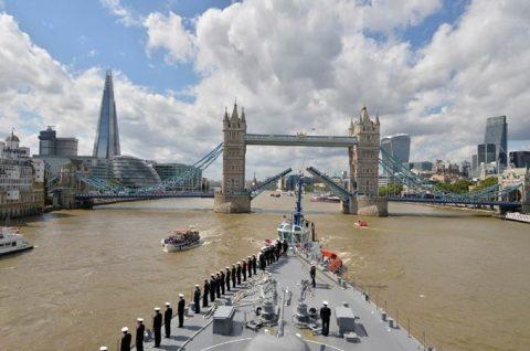 平成28年度 海自幹部候補生 練習艦隊 遠洋航海14フランス・イギリスNo8