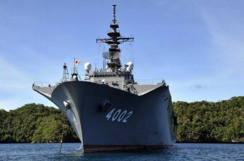 パシフィック・パートナーシップ2016 輸送艦しもきた パラオ寄港No2