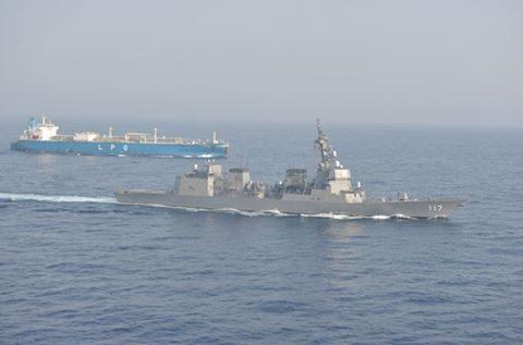 海上自衛隊(防衛省)海賊対処行動水上部隊(25次隊)いなづま8No1