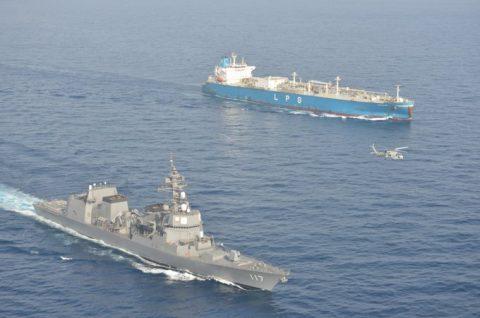 海上自衛隊(防衛省)海賊対処行動水上部隊(25次隊)いなづま8No2