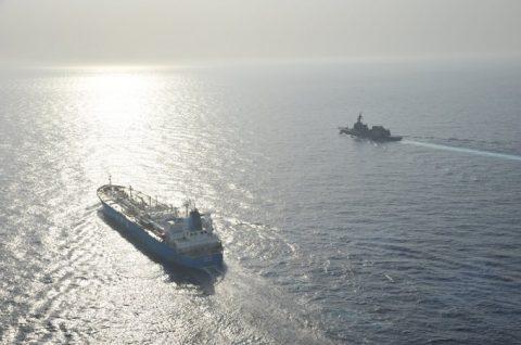 海上自衛隊(防衛省)海賊対処行動水上部隊(25次隊)いなづま8No4