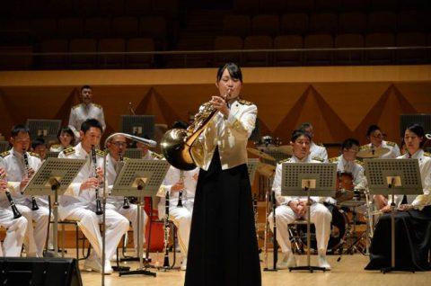 海上自衛隊(海自)東京音楽隊第54回定期演奏会:三宅3曹No03