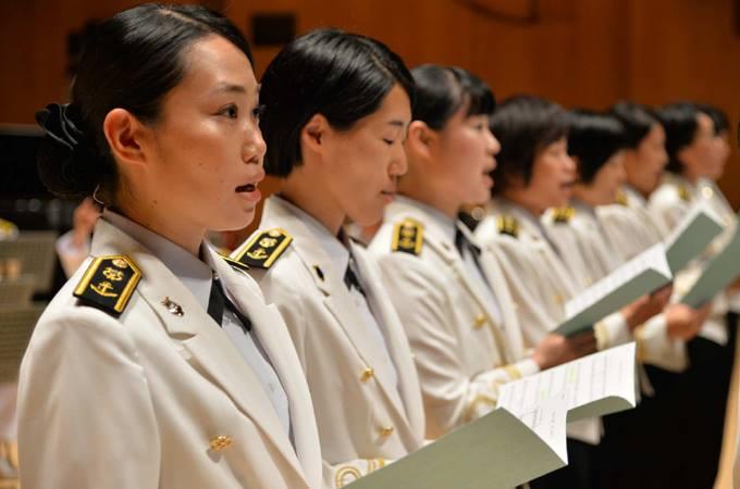 海上 自衛隊 横須賀 音楽 隊