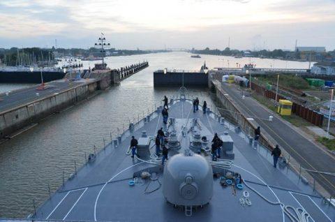 海上自衛隊2016年幹部候補生 練習艦隊 遠洋航海15リトアニアNo02