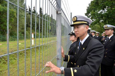 海上自衛隊2016年幹部候補生 練習艦隊 遠洋航海15リトアニアNo07