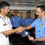 24次海賊対処行動水上部隊23インド海軍との親善訓練
