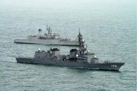 24次海賊対処行動水上部隊23インド海軍との親善訓練No4