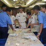 24次海賊対処行動水上部隊24 ゆうだち・ゆうぎりとインド海軍