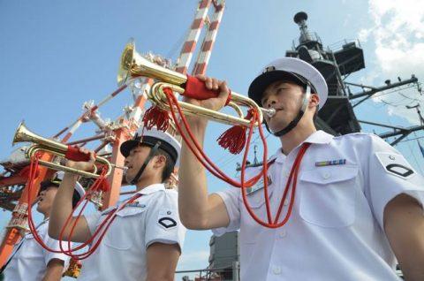 24次海賊対処行動水上部隊24 ゆうだち・ゆうぎりとインド海軍No08
