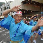 徳島航空基地(徳島教育航空群)かもめ連2016による大和阿波踊り