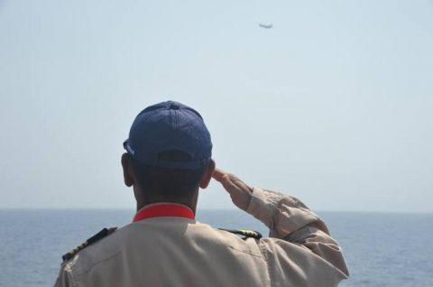 海賊対処行動水上部隊(25次隊)10 P-3C 稲田防衛大臣No2
