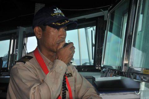海賊対処行動水上部隊(25次隊)10 P-3C 稲田防衛大臣No3
