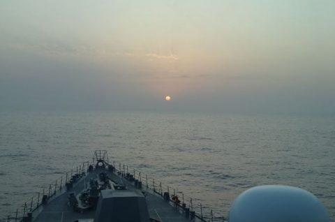 海上自衛隊 海賊対処行動水上部隊(25次隊)9すずつき/いなづまNo1