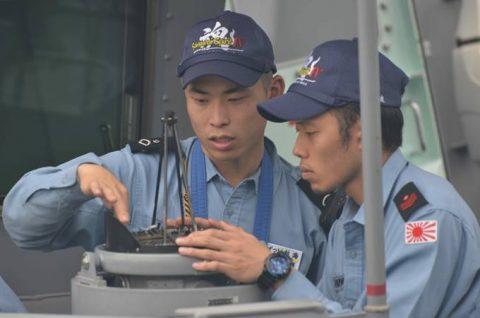 海上自衛隊 海賊対処行動水上部隊(25次隊)9すずつき/いなづまNo2