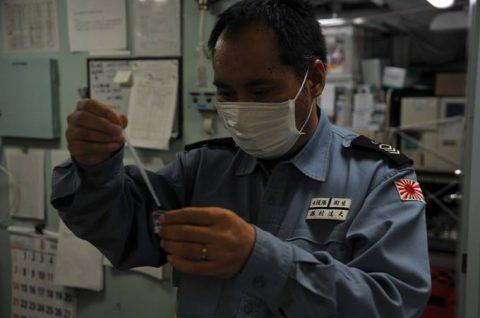 海上自衛隊 海賊対処行動水上部隊(25次隊)9すずつき/いなづまNo3