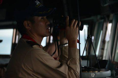 海上自衛隊 海賊対処行動水上部隊(25次隊)9すずつき/いなづまNo6