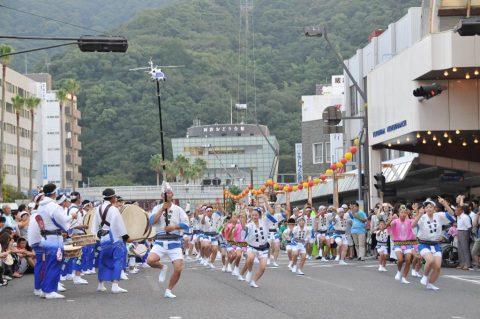 第24航空隊「松空連」による徳島阿波踊り2016の記録No1